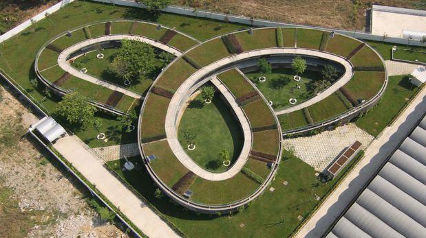 Conoce este parque en Vietnam con forma de espiral