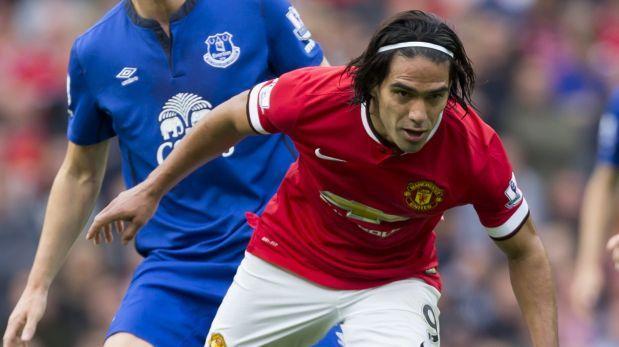Radamel Falcao podría regresar este sábado al Manchester United