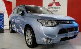 Motorshow: Mitsubishi exhibe la primera SUV híbrida enchufable