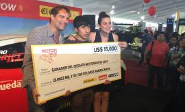 Motorshow: Marvin Janampa ganó el Desafío Motorshow