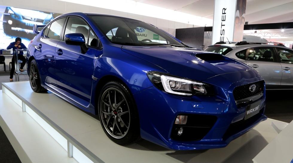 Motorshow: Subaru mostró su legendario WRX STI