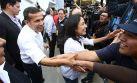 Ollanta Humala y Nadine fueron a fiesta de gerente de Antalsis
