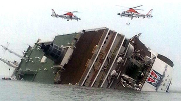 Barco surcoreano se hunde y deja un muerto y 52 desaparecidos