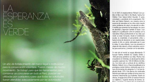 Conservamos por Naturaleza lanza nuevo libro