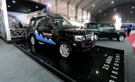 Motorshow: Land Rover mostró sus SUV en el salón