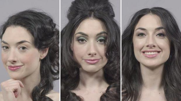 YouTube: Mira cómo el maquillaje se ha transformado en 100 años