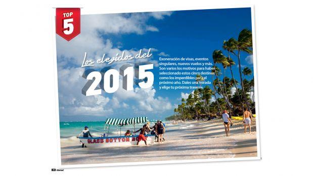 Viaja este 2015 con la nueva edición de tu revista ¡Vamos!