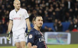 YouTube: Ibrahimovic marca y celebra al mismo tiempo con PSG