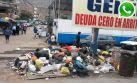 Vía WhatsApp: basura satura calles cerca a hospitales en Comas