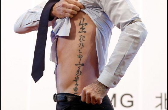 Tevez, Beckham, Neymar y otros tatuajes en futbolistas