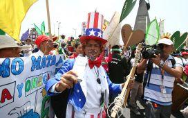 Cumbre de los Pueblos: 10 mil marcharon por el medio ambiente