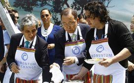 COP 20: El ceviche vegetariano de Gastón Acurio y Ban Ki-moon
