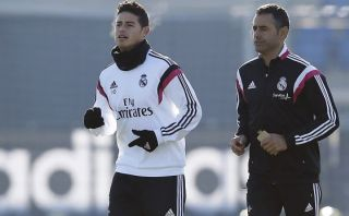 James Rodríguez realizó trotes y podría jugar Mundial de clubes