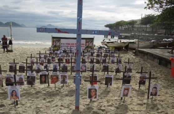 Policías de Río de Janeiro protestan por su propia inseguridad