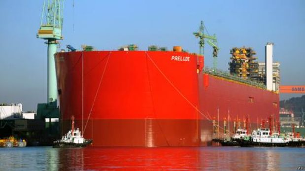 En las entrañas de la embarcación más grande jamás construida