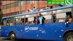 Hinchas de Sporting Cristal causan desmanes en centro de Lima - Noticias de sporting cristal