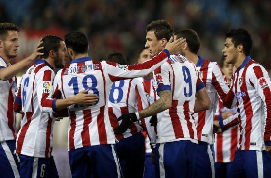 Liga BBVA: Atlético Madrid goleó 4-1 en la última fecha del año