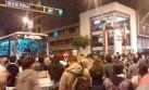 Metropolitano cambia rutas por marcha contra régimen juvenil