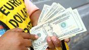 Tipo de cambio baja hasta los 3,264 soles por dólar