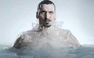Zlatan Ibrahimovic protagoniza genial comercial en cámara lenta