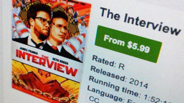 The Interview: App disfraza un virus como descarga de película