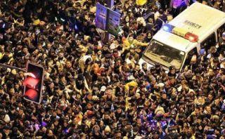 China: Mueren 35 personas en estampida en fiesta de Año Nuevo