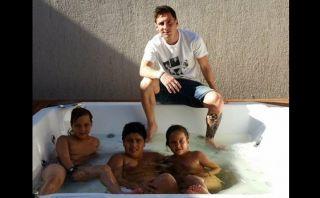 Lionel Messi: así recibe el 2015 en sus vacaciones en Rosario
