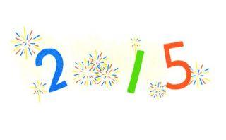 Año Nuevo 2015: el doodle con que Google le da la bienvenida