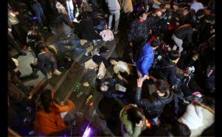 """Tragedia de Año Nuevo en Shangai: """"Era un infierno"""""""