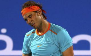 Rafael Nadal fue vapuleado por Andy Murray en Abu Dabi