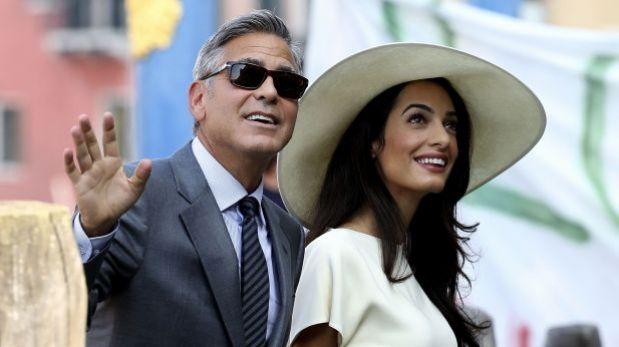 base image - George Clooney nervioso por su próxima paternidad