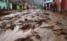 Un huaico arrastra y deja herido a turista en Cocalmayo