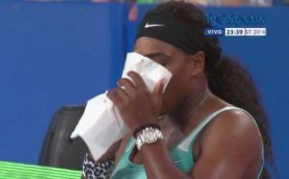 Serena Williams remontó partido tras tomar...¿café expreso?