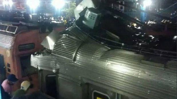 Choque de trenes en Rio de Janeiro deja al menos 69 heridos