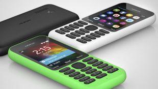Nokia 215, el smartphone de Microsoft que costará 29 dólares