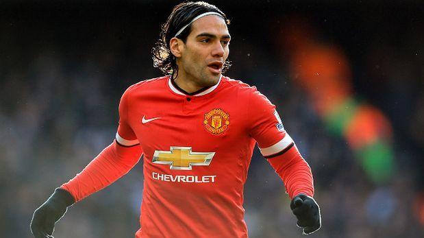 """Radamel Falcao: """"Disfruto cada momento en el Manchester United"""""""