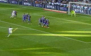 Real Madrid: Gareth Bale y un golazo espectacular de tiro libre