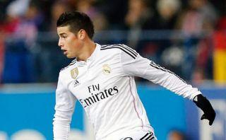 James Rodríguez: golazo del colombiano para el Real Madrid