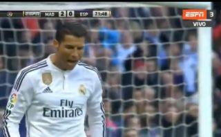 Cristiano Ronaldo se molestó con Gareth Bale por no darle pase