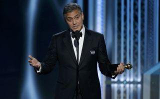 George Clooney usó el smoking de su boda para los Globos de Oro