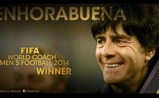 Joachim Löw ganador al mejor técnico del 2014 por la FIFA