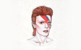 David Bowie:  gif muestra su evolución en 50 años de carrera