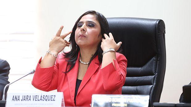 Ana Jara asistirá a la Comisión Permanente el 28 de enero