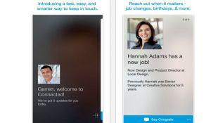 LinkedIn Connected mejora su plataforma para iOS
