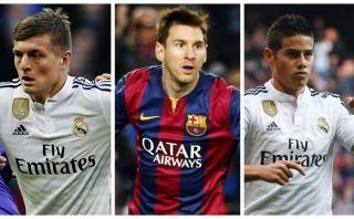 ¿Kross, Messi o James? Descubre al mejor organizador del 2014