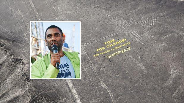 Ministra de Cultura: lo que hizo Greenpeace fue un acto ilegal