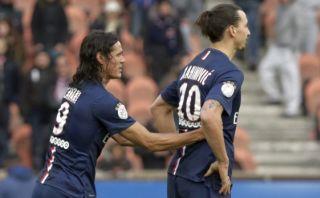 Cavani o Zlatan Ibrahimovic dejarían PSG por su mala relación