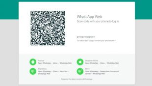 Whatsapp lanzó nueva versión web, para usar desde PCs