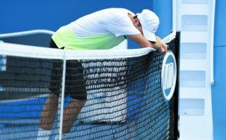 Australian Open: tenía todo para ganar, pero acabó en hospital