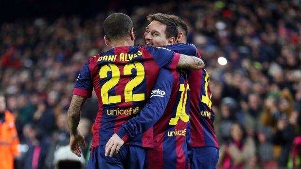 Barcelona goleó 6-0 al Elche con doblete de Lionel Messi